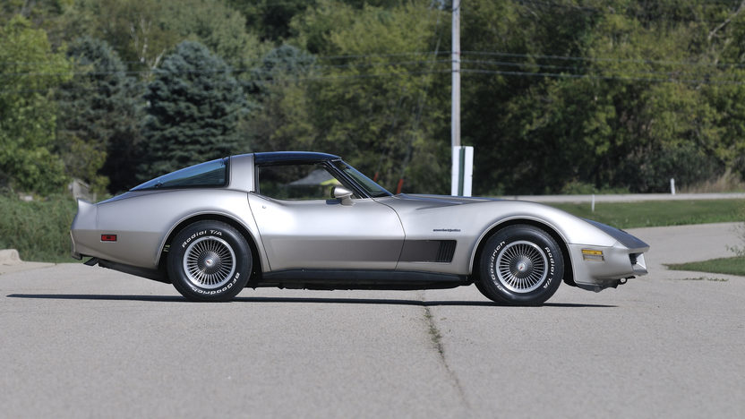 1982 Chevrolet Corvette Collector Edition presented as lot T138 at Kansas City, MO 2012 - image8
