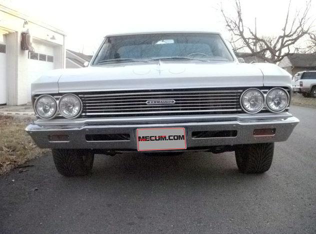1966 Chevrolet El Camino 327 CI, Automatic presented as lot T211 at Kansas City, MO 2012 - image7