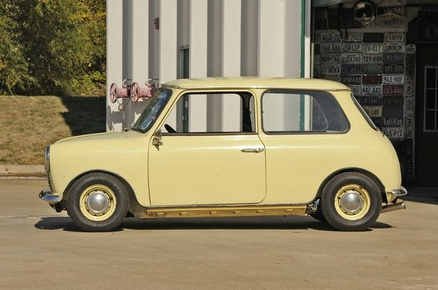 1980 Austin Mini 1000 HL 1293 CC, 4-Speed presented as lot F35 at Kansas City, MO 2012 - image2