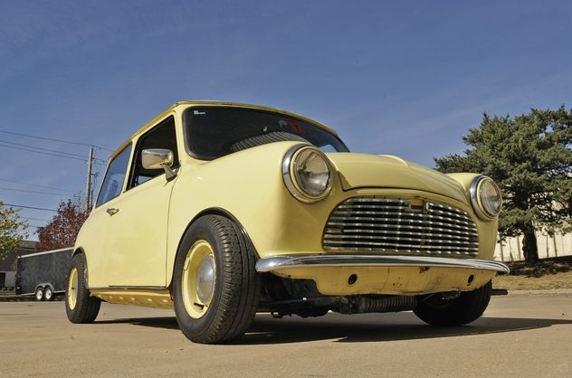 1980 Austin Mini 1000 HL 1293 CC, 4-Speed presented as lot F35 at Kansas City, MO 2012 - image9