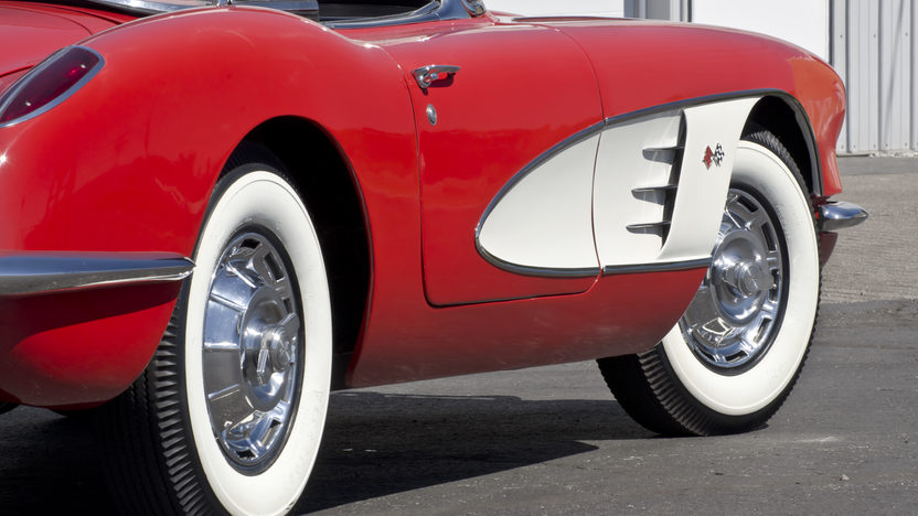 1959 Chevrolet Corvette Convertible 350 CI, Automatic presented as lot F122 at Kansas City, MO 2012 - image4