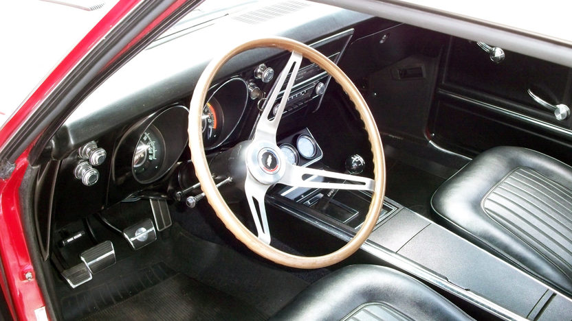 1967 Chevrolet Camaro SS 396/325 HP, 4-Speed presented as lot F181 at Kansas City, MO 2012 - image2