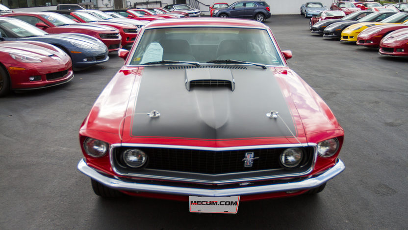 1969 Ford Mustang Mach 1 351 CI, Automatic presented as lot F197 at Kansas City, MO 2012 - image3