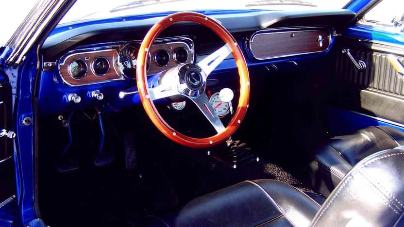 1965 Ford Mustang Fastback 302 CI, 5-Speed presented as lot S35 at Kansas City, MO 2012 - image3