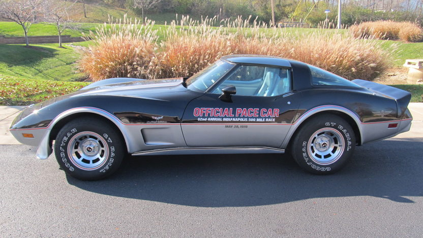 1978 Chevrolet Corvette Pace Car Edition 350/185 HP, Automatic presented as lot S78 at Kansas City, MO 2012 - image2