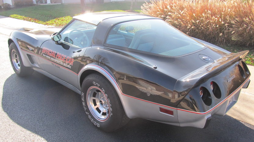 1978 Chevrolet Corvette Pace Car Edition 350/185 HP, Automatic presented as lot S78 at Kansas City, MO 2012 - image3