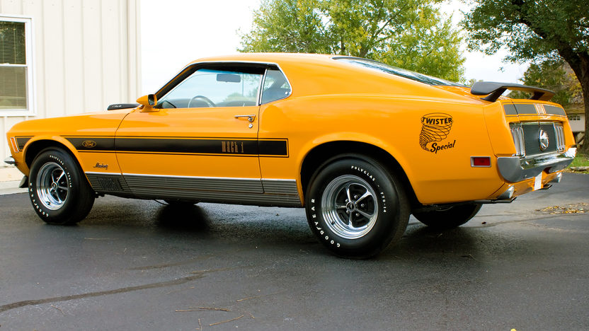 1970 Ford Mustang Mach 1 Twister Edition Mecum Kansas