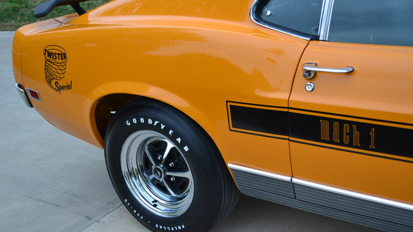 1970 Ford Mustang Mach 1 Twister Edition 351 CI, 1 of 48 Produced presented as lot S90 at Kansas City, MO 2012 - image8