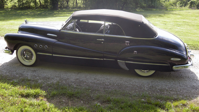 1948 Buick Super Convertible 454 CI, Automatic presented as lot S98 at Kansas City, MO 2012 - image6