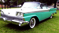1959 Ford Galaxie Retractable Top 332 CI, Automatic presented as lot S99 at Kansas City, MO 2012 - thumbail image5