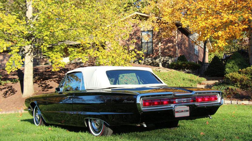 1966 Ford Thunderbird Convertible 428/345 HP, Automatic presented as lot S102 at Kansas City, MO 2012 - image2