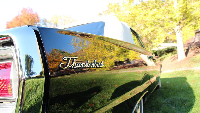 1966 Ford Thunderbird Convertible 428/345 HP, Automatic presented as lot S102 at Kansas City, MO 2012 - image8