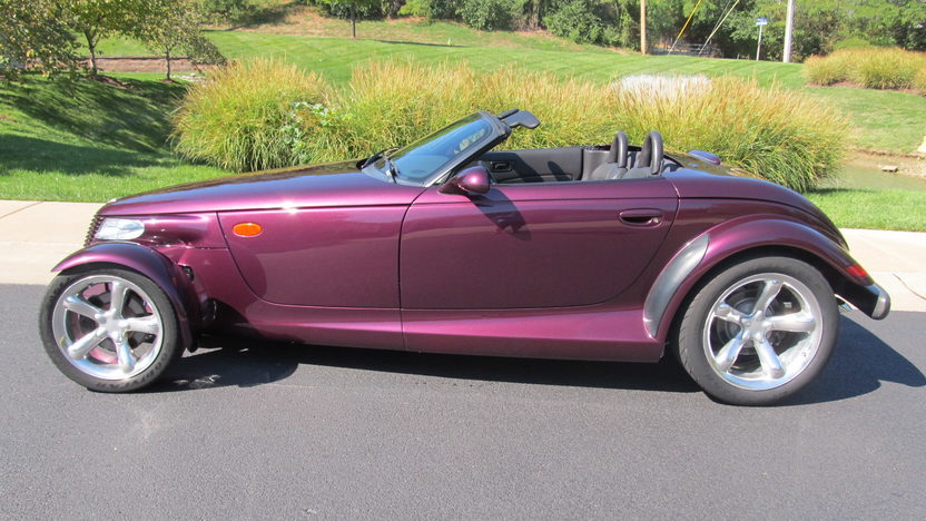 1999 Plymouth Prowler Convertible 3.5L, Automatic presented as lot S146 at Kansas City, MO 2012 - image2