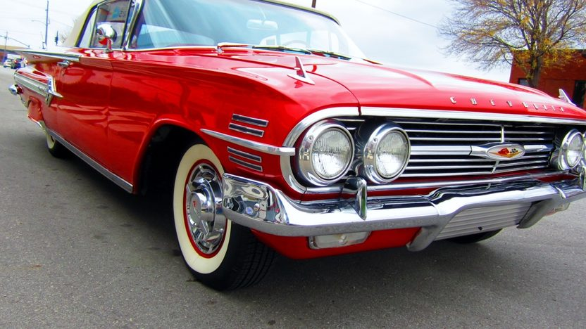 1960 Chevrolet Impala Convertible 348 CI, Automatic presented as lot S151 at Kansas City, MO 2012 - image7