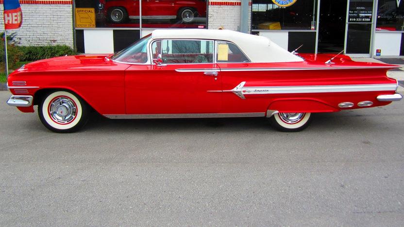 1960 Chevrolet Impala Convertible 348 CI, Automatic presented as lot S151 at Kansas City, MO 2012 - image8