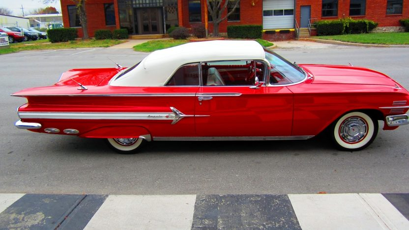 1960 Chevrolet Impala Convertible 348 CI, Automatic presented as lot S151 at Kansas City, MO 2012 - image9