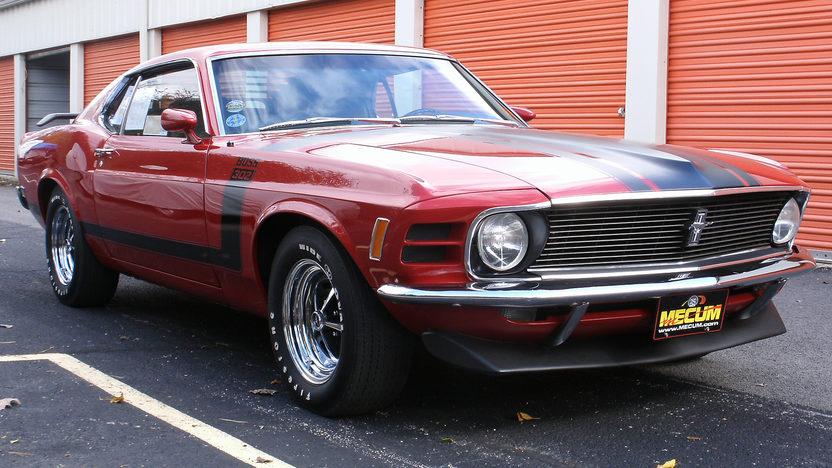 1970 Ford Mustang Boss 302 Fastback Mecum Kansas City