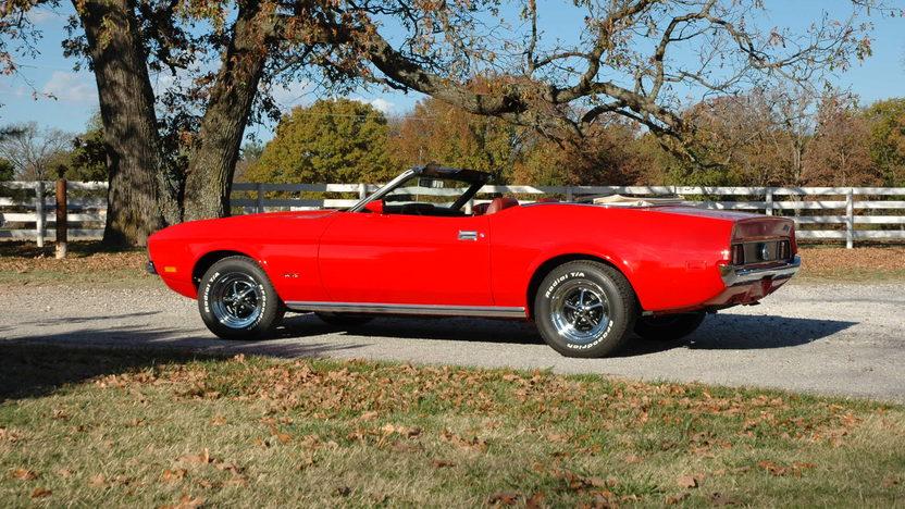 1972 Ford Mustang Convertible 351/266 HP, Automatic presented as lot S156 at Kansas City, MO 2012 - image2