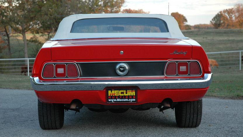 1972 Ford Mustang Convertible 351/266 HP, Automatic presented as lot S156 at Kansas City, MO 2012 - image4