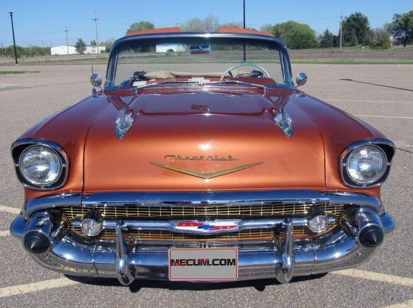 1957 Chevrolet Bel Air Convertible 350/300 HP, Frame-Off Restoration presented as lot S179 at Kansas City, MO 2012 - image2