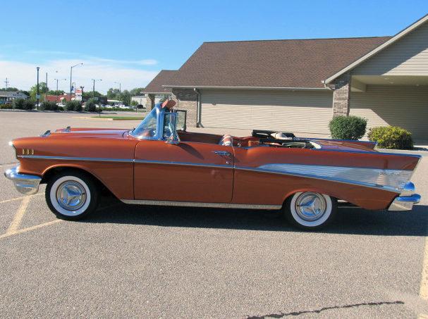 1957 Chevrolet Bel Air Convertible 350/300 HP, Frame-Off Restoration presented as lot S179 at Kansas City, MO 2012 - image3