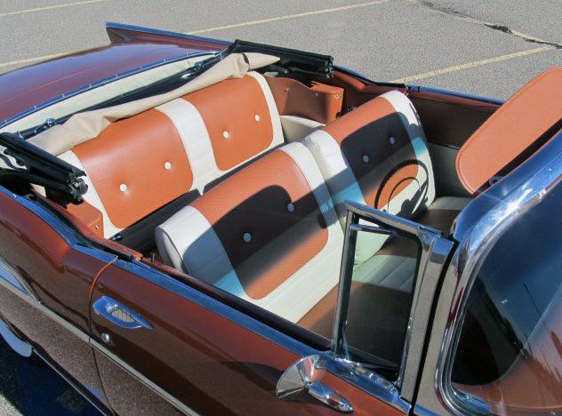 1957 Chevrolet Bel Air Convertible 350/300 HP, Frame-Off Restoration presented as lot S179 at Kansas City, MO 2012 - image4