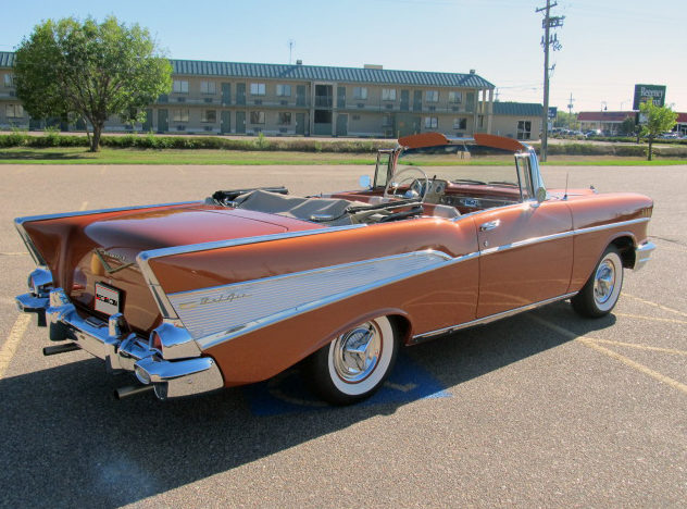 1957 Chevrolet Bel Air Convertible 350/300 HP, Frame-Off Restoration presented as lot S179 at Kansas City, MO 2012 - image7