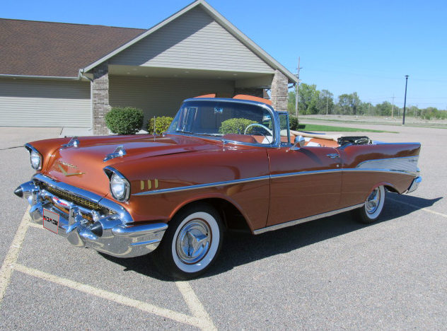 1957 Chevrolet Bel Air Convertible 350/300 HP, Frame-Off Restoration presented as lot S179 at Kansas City, MO 2012 - image8
