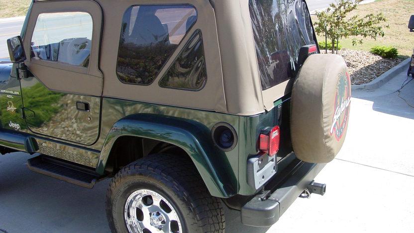 1999 Jeep Wrangler Sahara Open presented as lot S187 at Kansas City, MO 2012 - image3