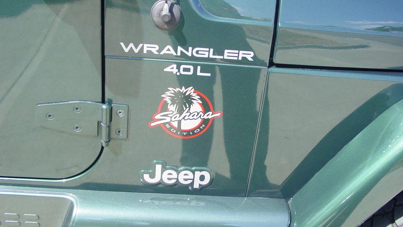 1999 Jeep Wrangler Sahara Open presented as lot S187 at Kansas City, MO 2012 - image4