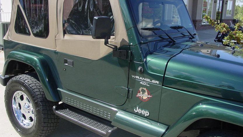 1999 Jeep Wrangler Sahara Open presented as lot S187 at Kansas City, MO 2012 - image6
