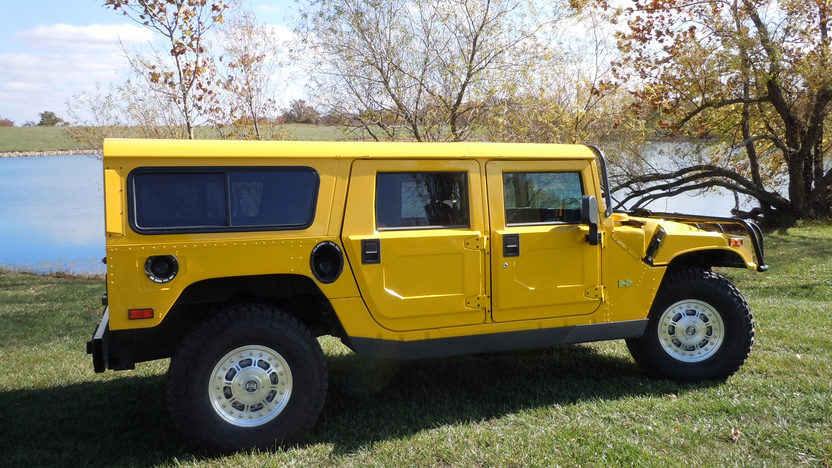 2002 Am General Hummer H1 6.5L Turbo Diesel presented as lot S207 at Kansas City, MO 2012 - image5