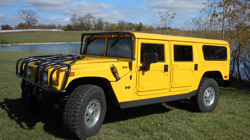 2002 Am General Hummer H1 6.5L Turbo Diesel presented as lot S207 at Kansas City, MO 2012 - image6