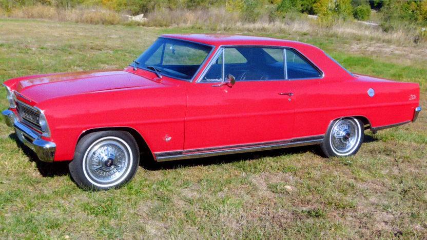 1966 Chevrolet Nova SS 327/350 HP, 4-Speed presented as lot F217 at Kansas City, MO 2012 - image2