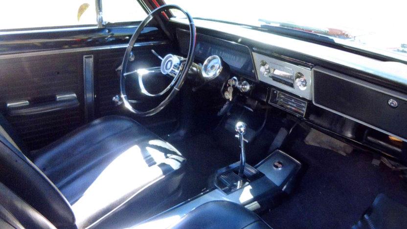 1966 Chevrolet Nova SS 327/350 HP, 4-Speed presented as lot F217 at Kansas City, MO 2012 - image3