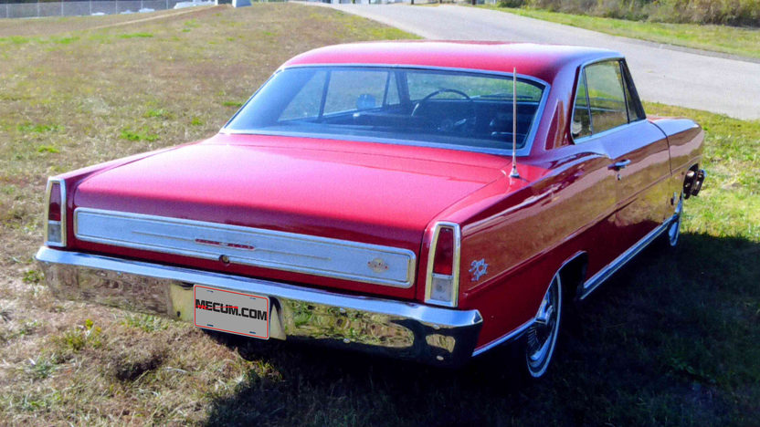 1966 Chevrolet Nova SS 327/350 HP, 4-Speed presented as lot F217 at Kansas City, MO 2012 - image5