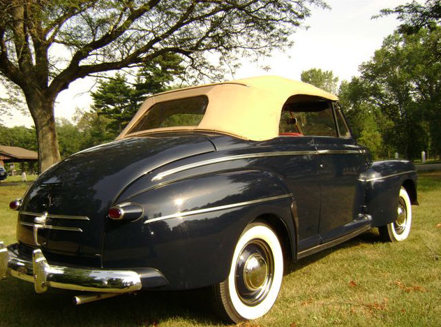 1947 Ford Super 8 Deluxe Convertible 239/100 HP, 3-Speed presented as lot S125.1 at Kansas City, MO 2012 - image2