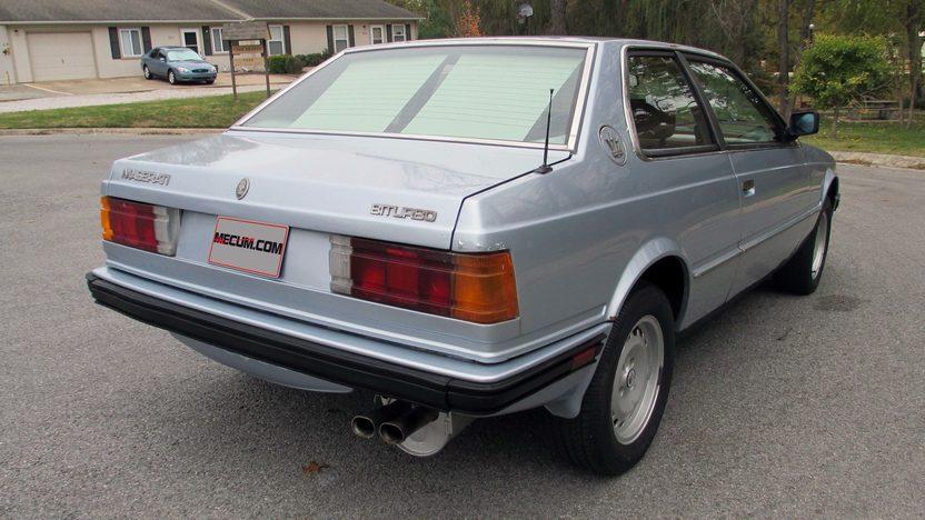 1985 Maserati Bi-Turbo presented as lot T8 at Kansas City, MO 2013 - image3
