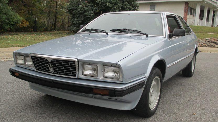 1985 Maserati Bi-Turbo presented as lot T8 at Kansas City, MO 2013 - image7