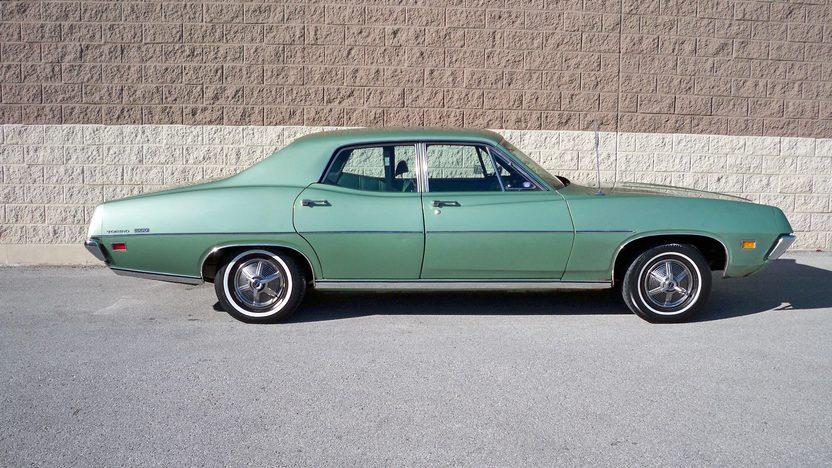 1971 Ford Torino 500 Sedan 302 CI, Automatic presented as lot T12 at Kansas City, MO 2013 - image2