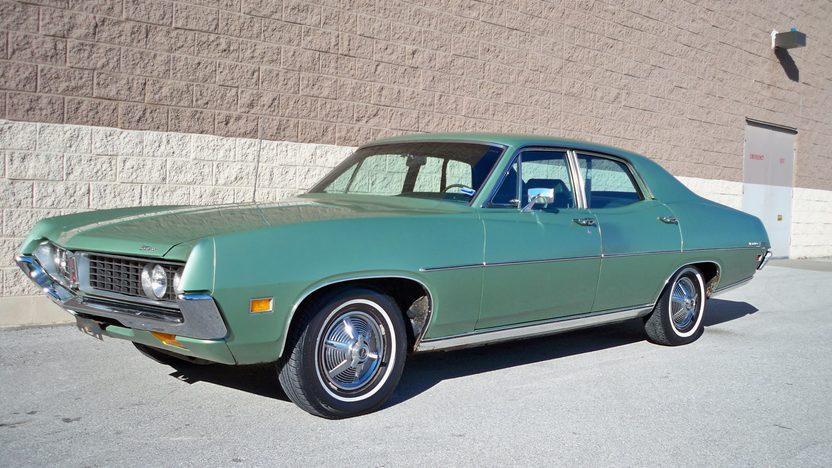 1971 Ford Torino 500 Sedan 302 CI, Automatic presented as lot T12 at Kansas City, MO 2013 - image8