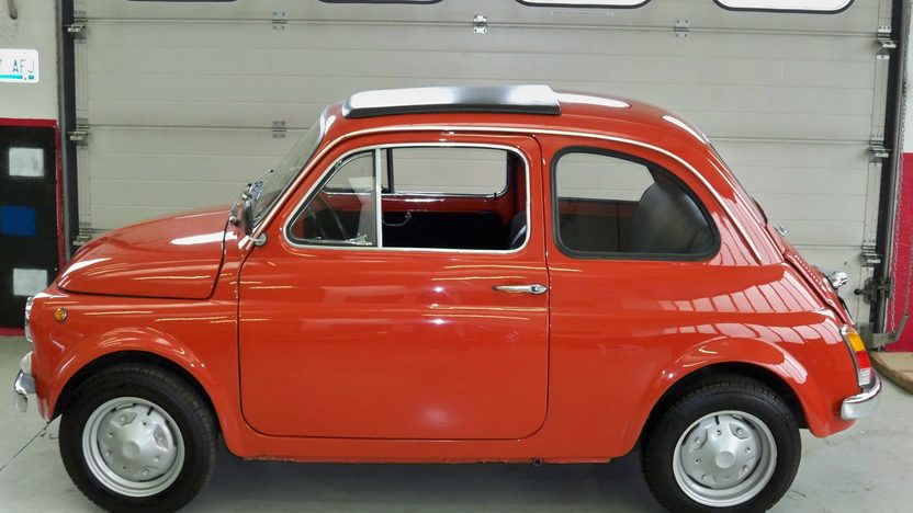 1974 Fiat 500R Coupe 594/23 HP, 4-Speed presented as lot F174 at Kansas City, MO 2013 - image2