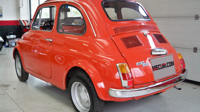 1974 Fiat 500R Coupe 594/23 HP, 4-Speed presented as lot F174 at Kansas City, MO 2013 - image3
