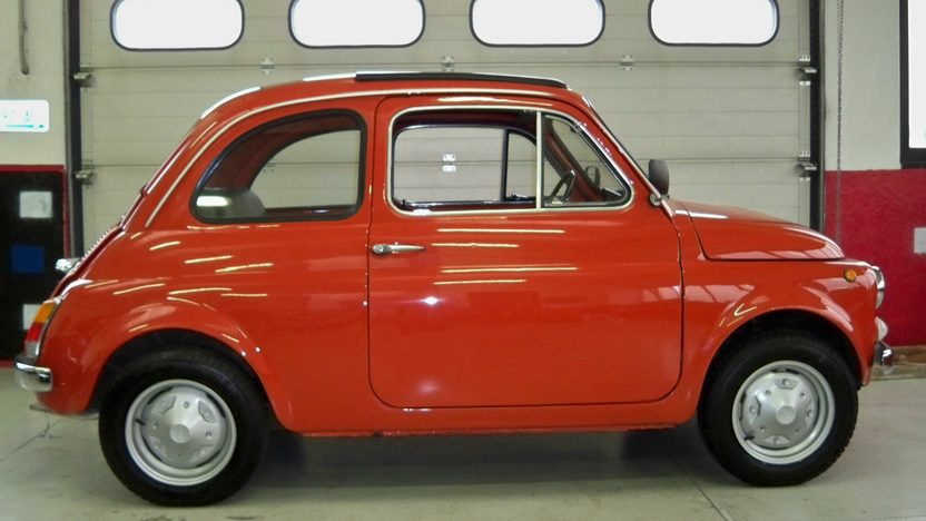 1974 Fiat 500R Coupe 594/23 HP, 4-Speed presented as lot F174 at Kansas City, MO 2013 - image9