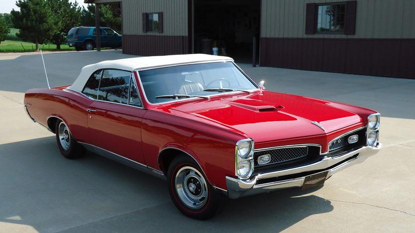 1967 Pontiac GTO Convertible GTOAA Nationals Concours Gold presented as lot F217 at Kansas City, MO 2013 - image11
