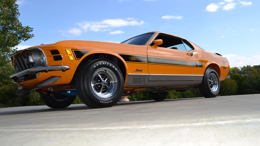 1970 Ford Mustang Mach 1 Twister Special  351 CI, 1 of 39 Built presented as lot S102 at Kansas City, MO 2013 - image8