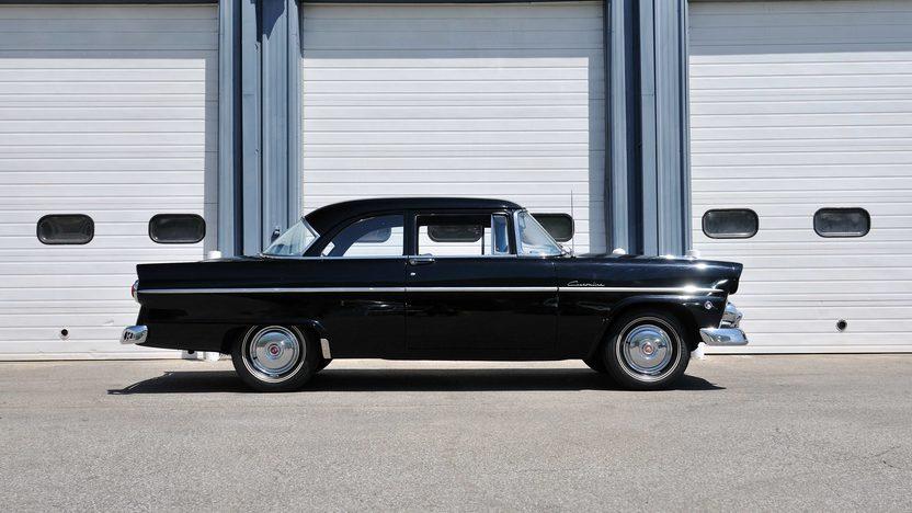1955 Ford Customline Sedan 223 CI, Automatic presented as lot S112 at Kansas City, MO 2013 - image2