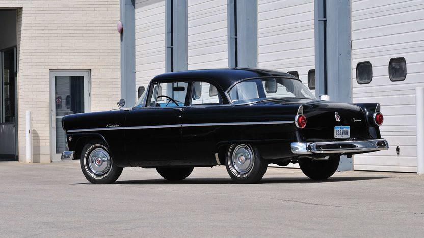 1955 Ford Customline Sedan 223 CI, Automatic presented as lot S112 at Kansas City, MO 2013 - image3