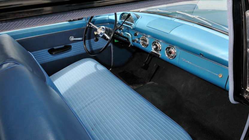 1955 Ford Customline Sedan 223 CI, Automatic presented as lot S112 at Kansas City, MO 2013 - image5