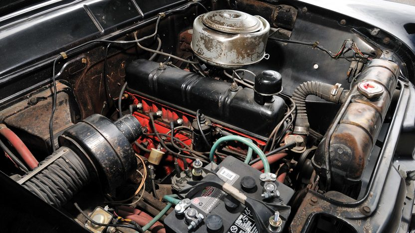 1955 Ford Customline Sedan 223 CI, Automatic presented as lot S112 at Kansas City, MO 2013 - image7
